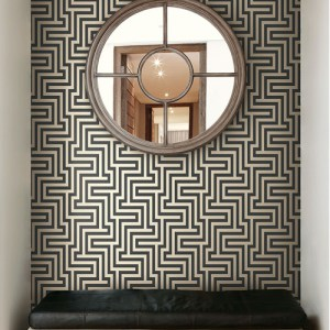 Seabrook Wallcoverings Tortuga Martinique Wallpaper Roomset