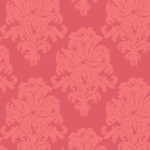 TA20101 Seabrook Wallcoverings Tortuga Montserrat Wallpaper Raspberry