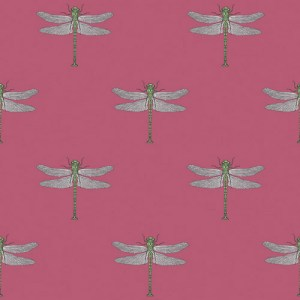 TA20301 Seabrook Wallcoverings Tortuga Catalina Wallpaper Raspberry
