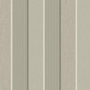 ML14408 Seabrook Wallcoverings Modena James Stripe Wallpaper Taupe