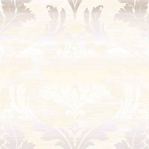 MT80210 Seabrook Wallcoverings Montage Catamount Damask Wallpaper Gray