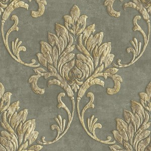 MT81605 Seabrook Wallcoverings Montage Telluride Wallpaper Gray