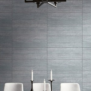 Seabrook Wallcoverings Modena Gene Block Wallpaper Roomset