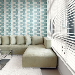Seabrook Wallcoverings Retro Living Fonzie Wallpaper Roomset