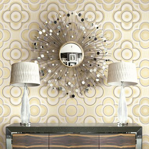 Seabrook Wallcoverings Retro Living Gidget Wallpaper Roomset