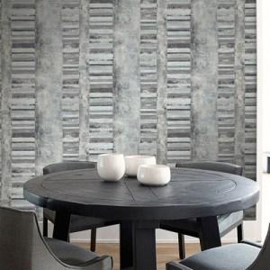 Seabrook Deisgns Metalworks Judson Wallpaper Room Setting