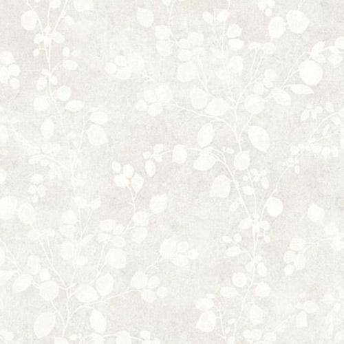 TE10000 Seabrook Wallcoverings Jupiter Nate Floral Wallpaper White