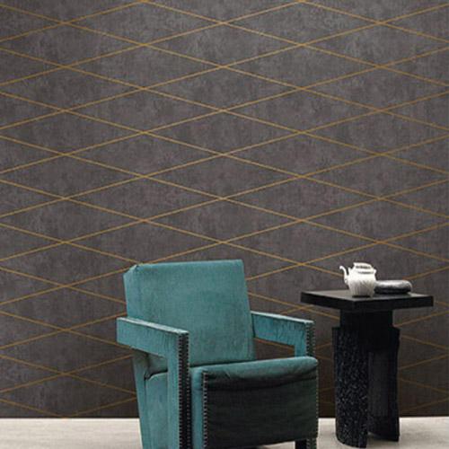 Seabrook Wallcoverings Jupiter Contemporary Wallpaper Room Setting
