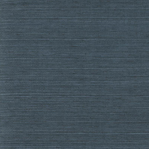 VG4405MH Navy Plain Grass Wallpaper Joanna Gaines Magnolia Home by York Wallcoverings