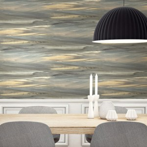 Seabrook Wallcoverings L'Atelier de Paris Horizon Wallpaper Room Setting