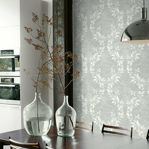 Seabrook Wallcoverings Carl Robinson Sea Glass Oakdale Wallpaper Room Setting