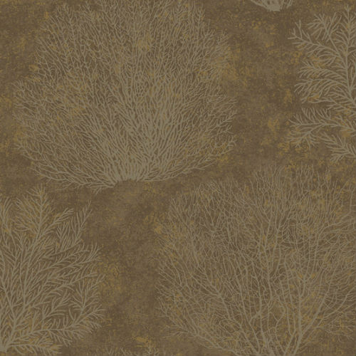 CR75506 Seabrook Wallcoverings Carl Robinson Sea Glass Oliver Wallpaper Brown