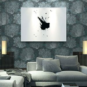 Seabrook Wallcoverings Carl Robinson Sea Glass Oliver Wallpaper Room Setting