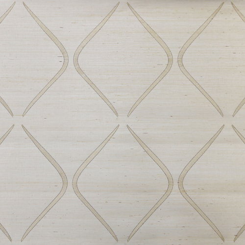 DL2902 York Wallcoverings Candice Olson Natural Splendor Marquise Wallpaper Beige