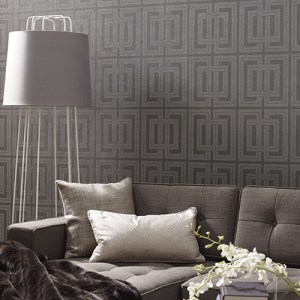 York Wallcoverings Candice Olson Natural Splendor Quad Wallpaper Room Setting