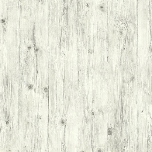 LL36205 Patton Wallcoverings Norwall Illusions 2 Rustic Wood Wallpaper Gray