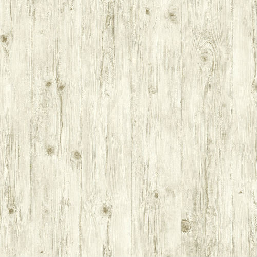 LL36206 Patton Wallcoverings Norwall Illusions 2 Rustic Wood Wallpaper Taupe