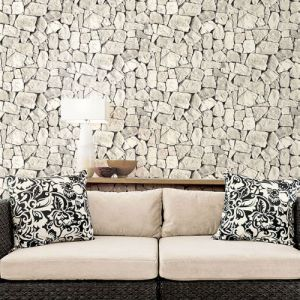 Tumbled Stone Wallpaper From Norwall Illusions 2 By Patton