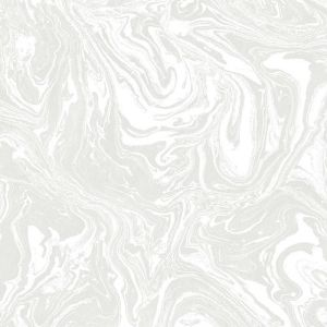 LL36242 Patton Wallcoverings Norwall Illusions 2 Marble Wallpaper Gray
