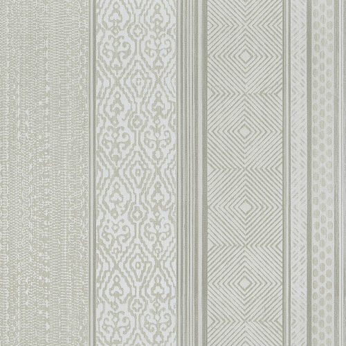 376020 Brewster Wallcoverings Eijffinger Siroc Stripe Setif Wallpaper Beige