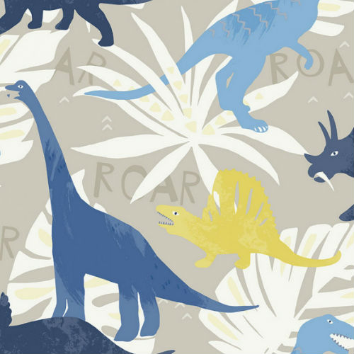 FA40002 Pack Party Wallpaper from Playdate Adventure Wallpaper Book by Seabrook Wallcoverings Blue