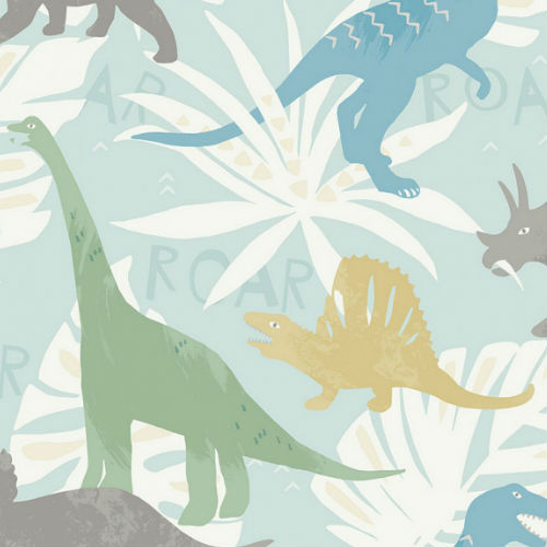FA40012 Pack Party Wallpaper from Playdate Adventure Wallpaper Book by Seabrook Wallcoverings Green