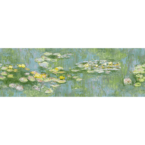FI71800M Seabrook Wallcoverings French Impressionist Water Color Lilies Mural