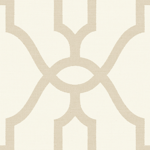 ME1554 York Wallcovering Joanna Gaines Magnolia Home 2 Woven Trellis Wallpaper Beige