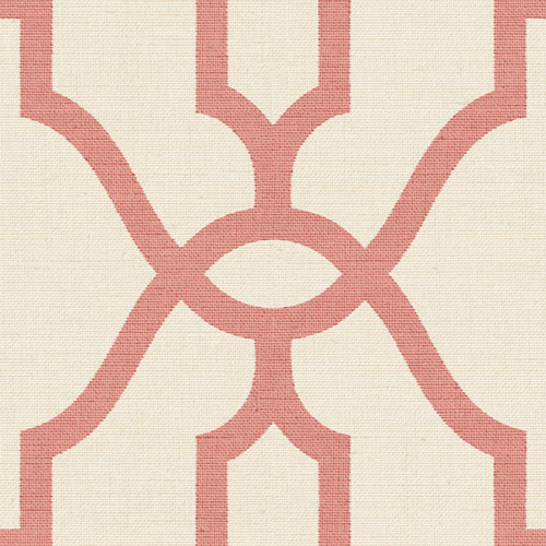 ME1556 York Wallcovering Joanna Gaines Magnolia Home 2 Woven Trellis Wallpaper Coral