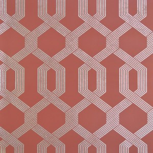 Y6221203 York Wallcovering Mid Century Viva Lounge Wallpaper Red