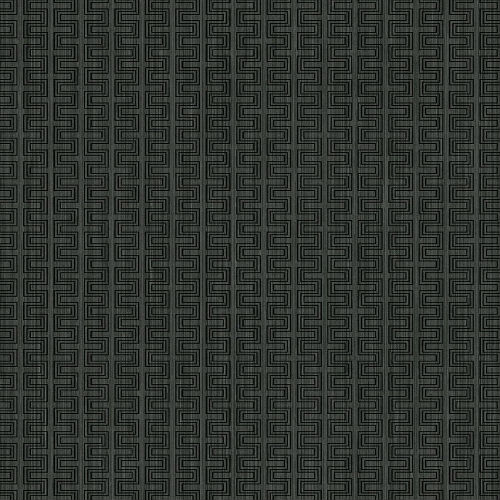 ZN51800 Seabrook Wallcoverings Texture Anthology Etten Geometric Wallpaper Charcoal