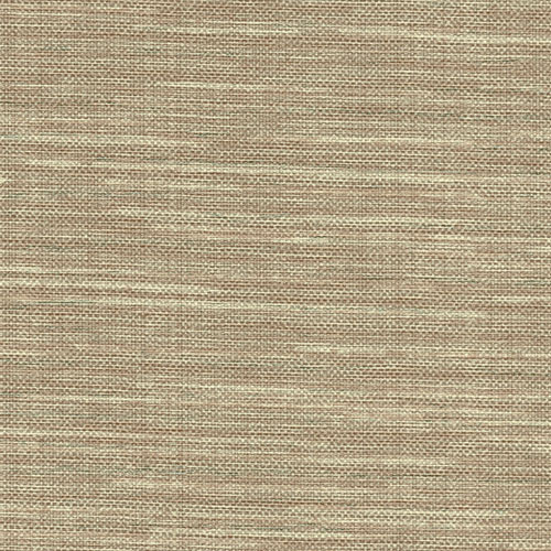 2758-8014 Brewster Wallcovering Warner Textures and Weaves Bay Ridge Faux Grasscloth Wallpaper Chestnut