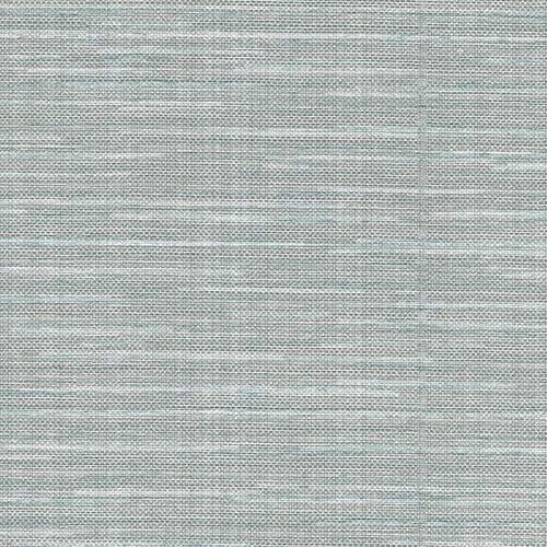 2758-8017 Brewster Wallcovering Warner Textures and Weaves Bay Ridge Faux Grasscloth Wallpaper Blue