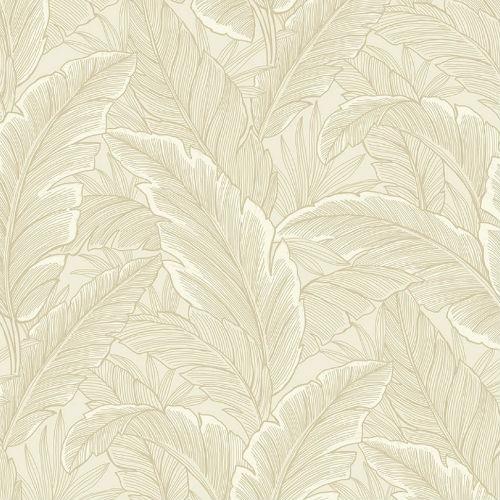 Ruffled Palm Wallpaper From Pear Tree Studios Mica