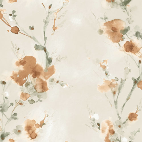 CP1204 York Wallcovering Candice Olson Breathless Charm Wallpaper Blaze