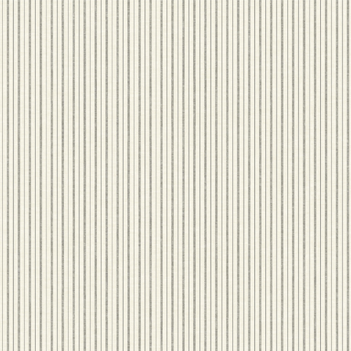 Joanna Gaines French Ticking Stripe Wallpaper By York