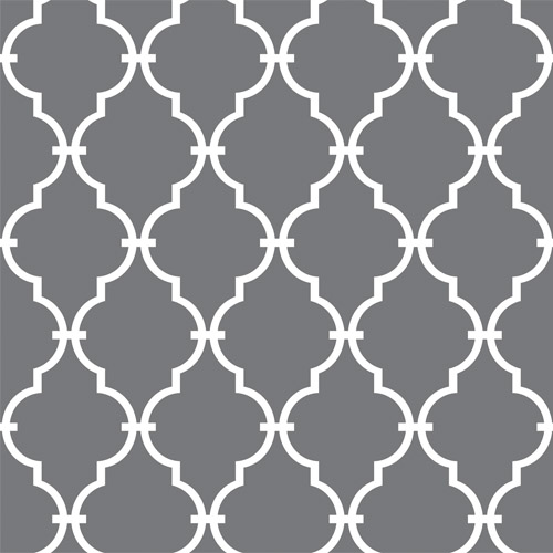 RMK11288WP York Wallcovering Roommates Modern Trellis Peel and Stick Wallpaper Grey