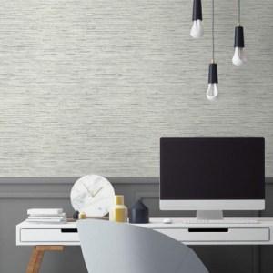 Grasscloth Peel and Stick Wallpaper