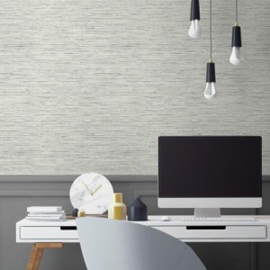 Grasscloth Peel and Stick Wallpaper