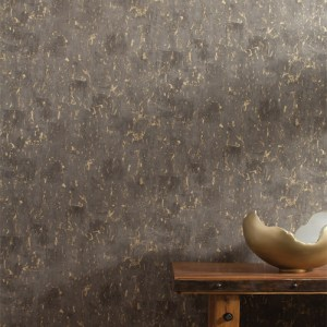 RRD7450 York Wallcovering Ronald Redding Industrial Interiors 2 Tungsten Wallpaper Black Room Setting