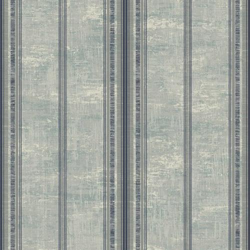1730804 Seabrook Wallcovering Etten Gallerie Mercury Classic Faux Stripe Wallpaper Grey