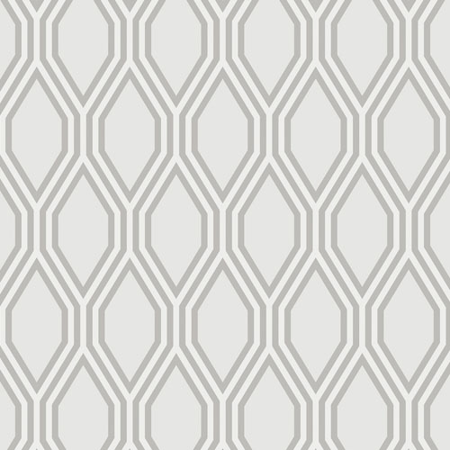 2782-24501 Brewster Wallcovering A Street Prints Habitat Honeycomb Geometric Wallpaper Grey