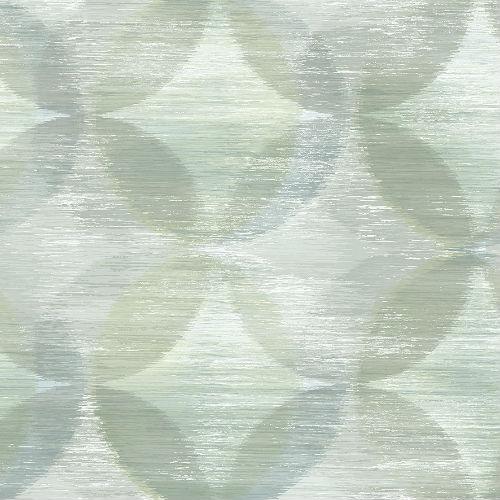 2793-24700 Brewster Wallcovering A Street Prints Celadon Alchemy Geometric Wallpaper Green