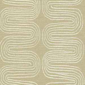2793-24741 Brewster Wallcovering A Street Prints Celadon Zephyr Abstract Stripe Wallpaper Honey