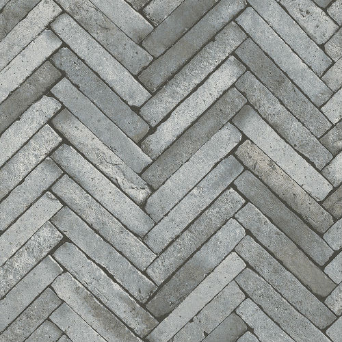 2767-23758 Arrow Diagonal Slate Wallpaper Grey