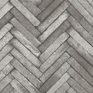 2767-23760 Arrow Diagonal Slate Wallpaper Dark Grey