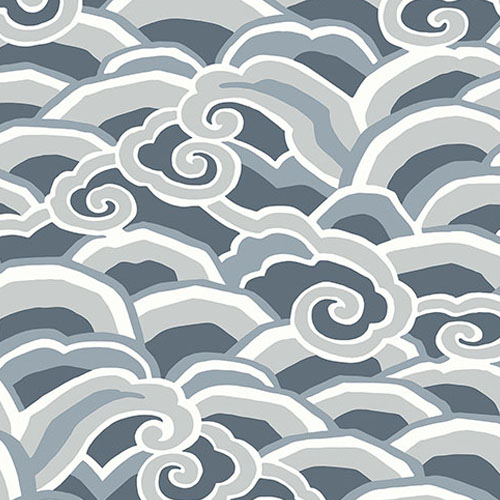 2785-24840 Brewster Wallcovering A Street Prints Sarah Richardson Signature Decowave Wallpaper Denim