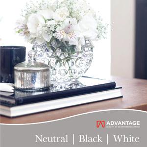 Advantage Neutral Black White