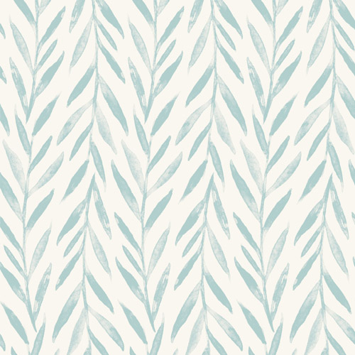 MK1138 York Wallcoverings Joanna Gaines Magnolia Home 3 Artful Prints and Patterns Willow Wallpaper Blue