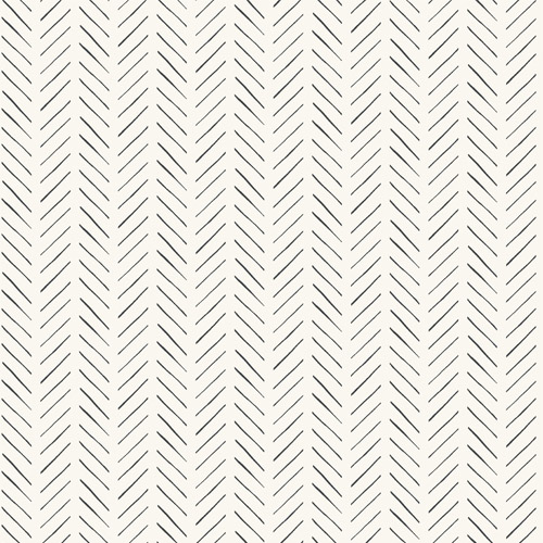 MK1170 York Wallcoverings Joanna Gaines Magnolia Home 3 Artful Prints and Patterns Pick-Up Sticks Wallpaper Black